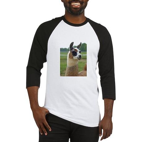Spotted Llama Baseball Jersey