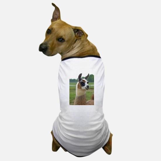 Spotted Llama Dog T-Shirt