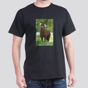 Black Llama Dark T-Shirt