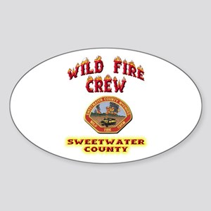 Sweetwater Wild Fire Crew Sticker (Oval)