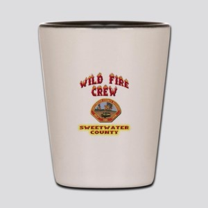 Sweetwater Wild Fire Crew Shot Glass