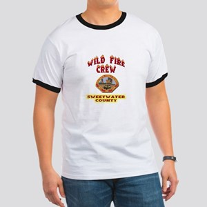 Sweetwater Wild Fire Crew Ringer T