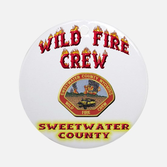 Sweetwater Wild Fire Crew Ornament (Round)