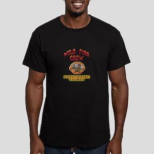 Sweetwater Wild Fire Crew Men's Fitted T-Shirt (da