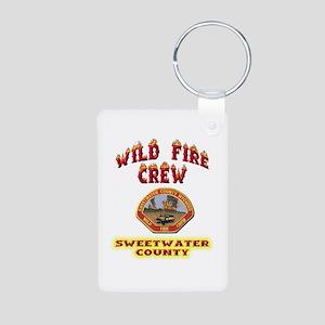 Sweetwater Wild Fire Crew Aluminum Photo Keychain
