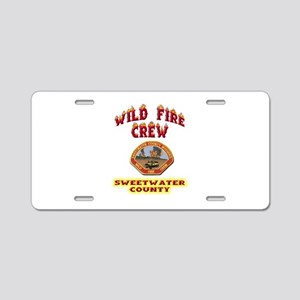 Sweetwater Wild Fire Crew Aluminum License Plate