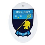 USS CONY Ornament (Oval)
