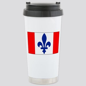 French Canadian Stainless Steel Travel Mug