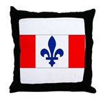French Canadian Throw Pillow