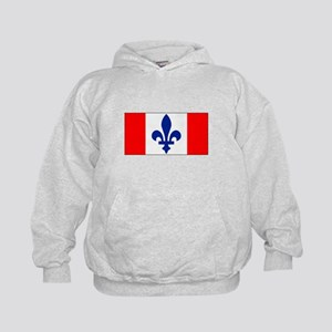 French Canadian Kids Hoodie