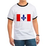 French Canadian Ringer T