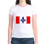 French Canadian Jr. Ringer T-Shirt