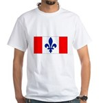 French Canadian White T-Shirt
