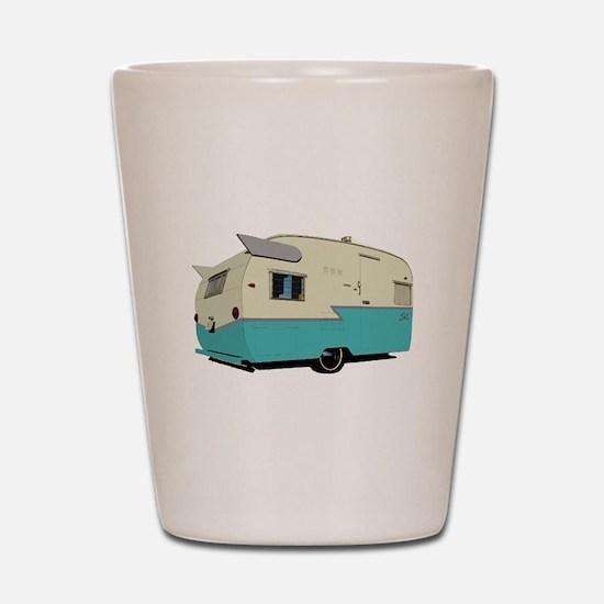 Vintage Shasta Shot Glass