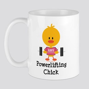 Powerlifting Chick Mug