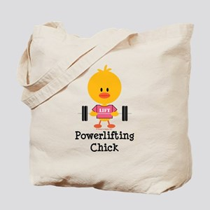 Powerlifting Chick Tote Bag