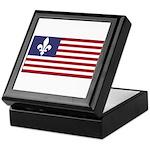 French American Keepsake Box