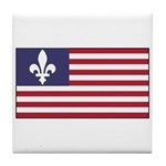 French American Tile Coaster