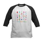 TEACH THE ABC's Kids Baseball Jersey