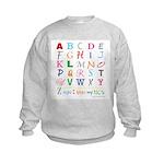 TEACH THE ABC's Kids Sweatshirt