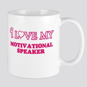 I love my Motivational Speaker Mugs