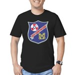 USS CONY Men's Fitted T-Shirt (dark)