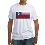 French American Fitted T-Shirt