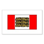 English Canadian Sticker (Rectangle 10 pk)