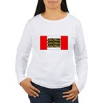 English Canadian Women's Long Sleeve T-Shirt