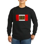 English Canadian Long Sleeve Dark T-Shirt