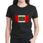 English Canadian Women's Dark T-Shirt