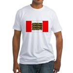 English Canadian Fitted T-Shirt