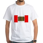 English Canadian White T-Shirt