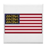 English American Tile Coaster
