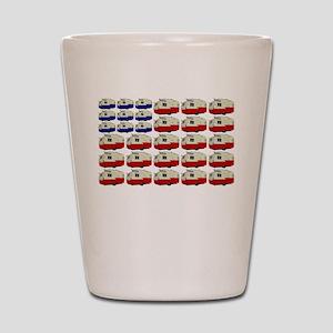 All American Shasta Shot Glass