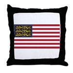 English American Throw Pillow