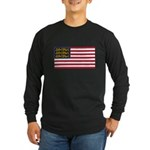 English American Long Sleeve Dark T-Shirt