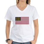 English American Women's V-Neck T-Shirt