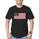 English American Men's Fitted T-Shirt (dark)