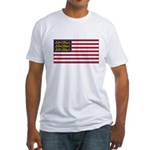 English American Fitted T-Shirt