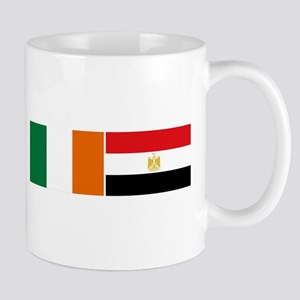 Irish Egyptian flags Mug