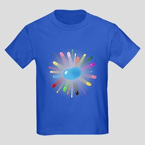 blue jellybean blowout Kids Dark T-Shirt