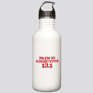 Pain is Addictive Half Marath Stainless Water Bott