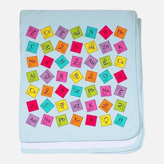 Periodic Elements baby blanket