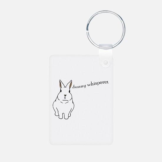 bunny whisperer Keychains