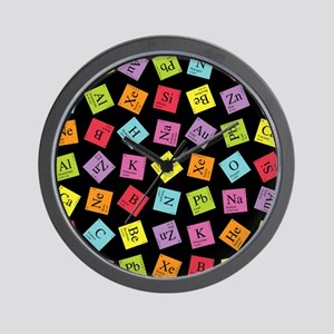Periodic Elements Wall Clock