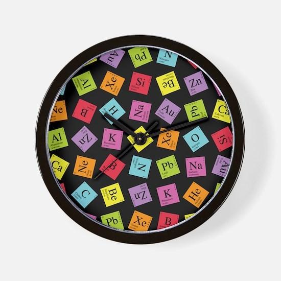 Periodic Elements Wall Clock
