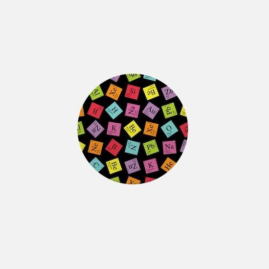 Periodic Elements Mini Button