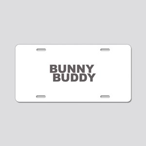 BUNNY BUDDY Aluminum License Plate