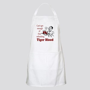 Can't Get Enough Tiger Blood! Apron